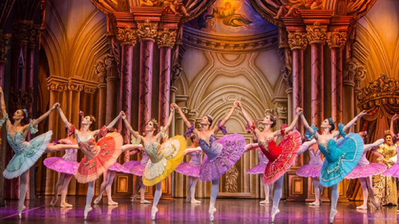 15th December, Sleeping Beauty ballet at the Teatro Guerra in Lorca