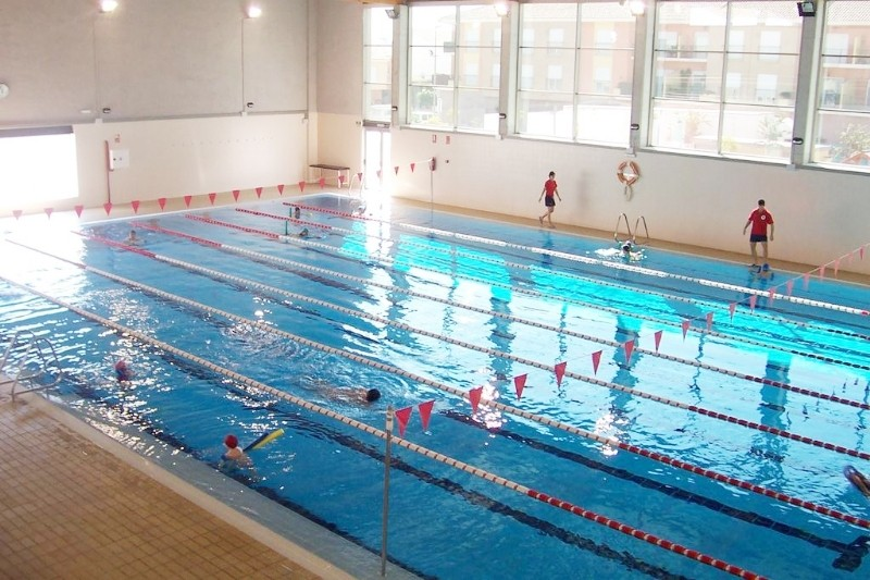 Alhama de Murcia indoor swimming pool