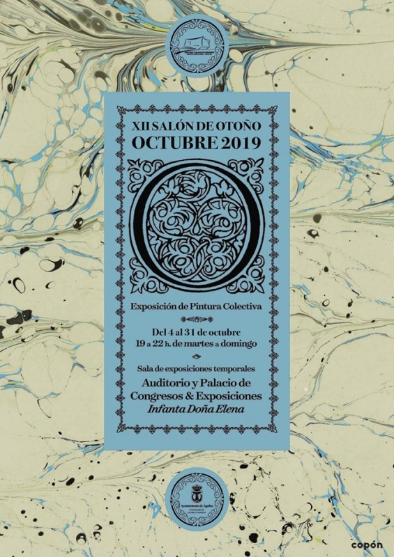 3rd to 31st October the 12th Salón de Otoño art exhibition in Águilas
