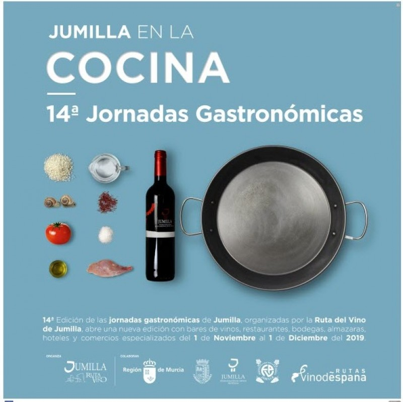 Jumilla gastronomic weekend menus: 1st November to 1st December