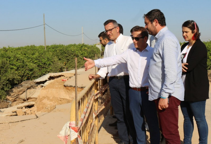 <span style='color:#780948'>ARCHIVED</span> - Los Alcázares Mayor partly blames the AP-7 motorway for flooding