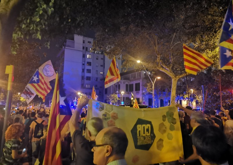 <span style='color:#780948'>ARCHIVED</span> - Tension builds again in Catalunya two years after the outlawed independence referendum