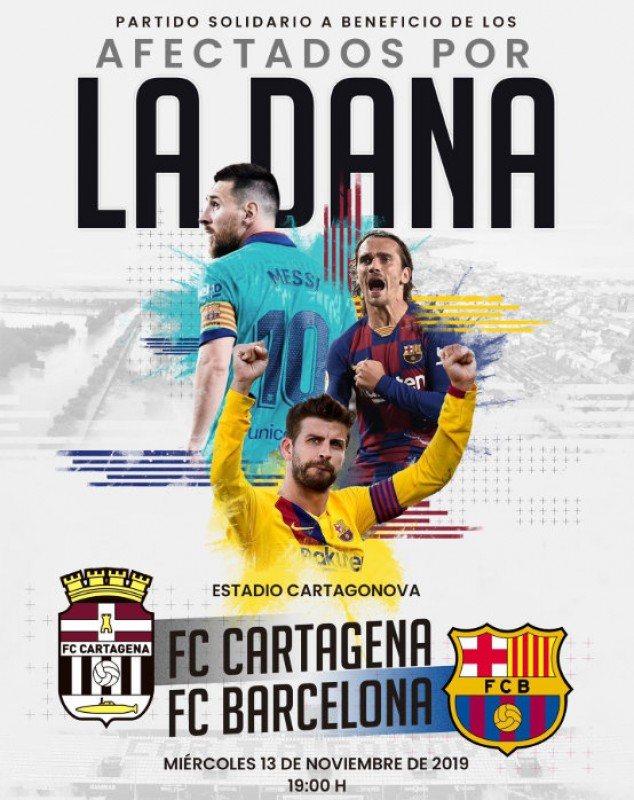 <span style='color:#780948'>ARCHIVED</span> - FC Barcelona to play Cartagena to raise money for gota fría storm victims
