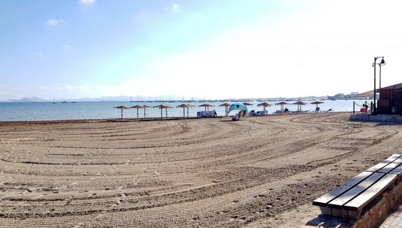 <span style='color:#780948'>ARCHIVED</span> - Update on status of Mar Menor and La Manga beaches following Gota Fría