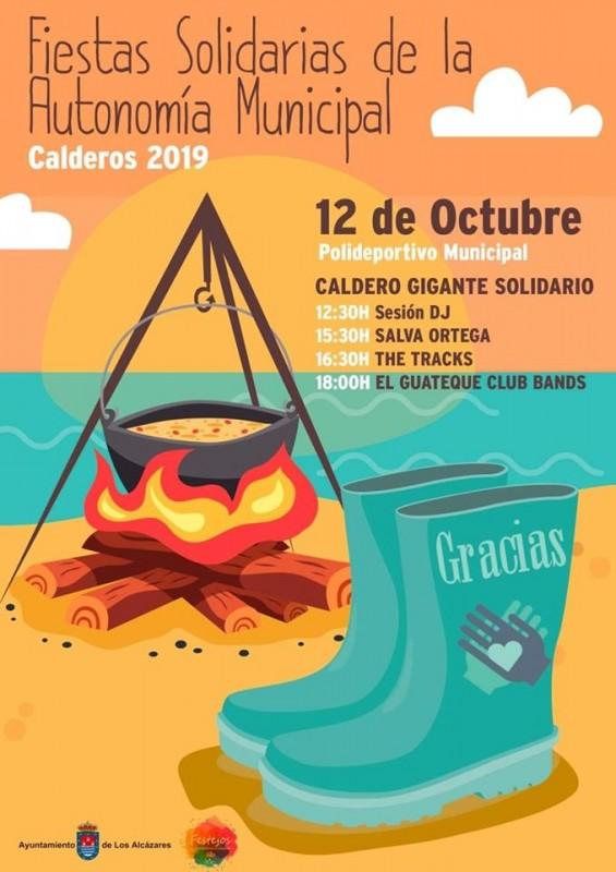 <span style='color:#780948'>ARCHIVED</span> - 12th October Día del Caldero in Los Alcázares
