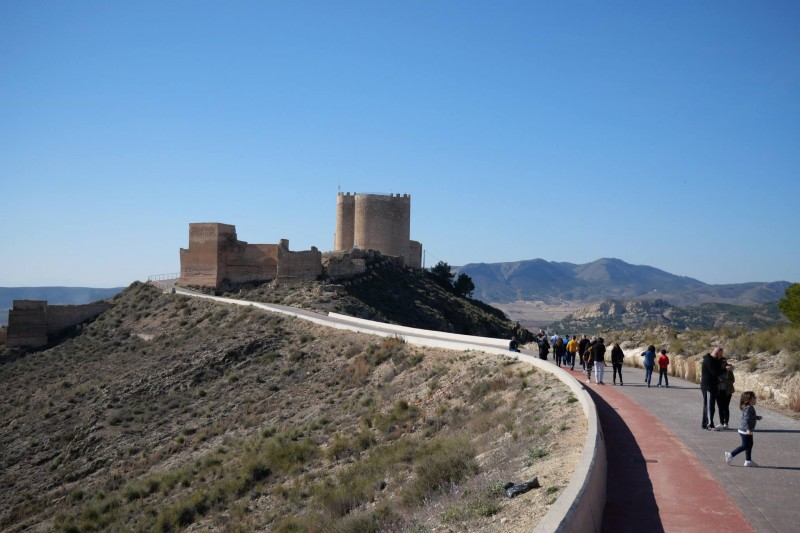 Sunday 17th November Jumilla: ENGLISH LANGUAGE castle tour