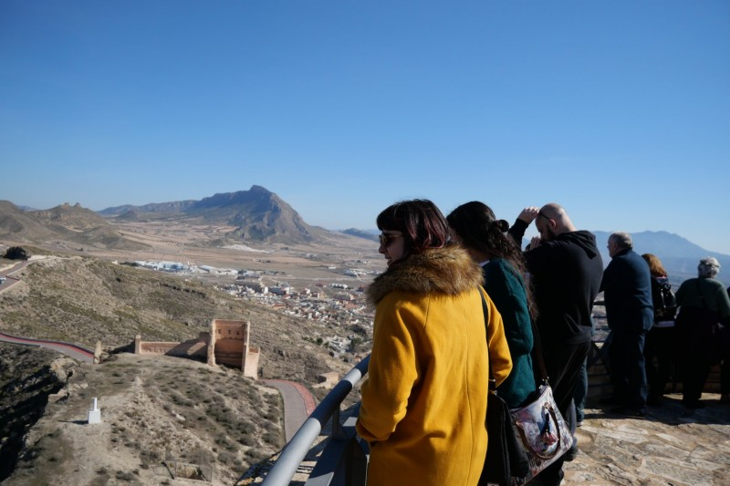 <span style='color:#780948'>ARCHIVED</span> - Sunday 15th December Jumilla castle tour (Spanish)