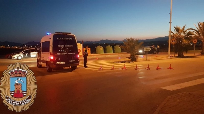 <span style='color:#780948'>ARCHIVED</span> - Mazarrón police remove Camposol squatters and arrest drunk driver