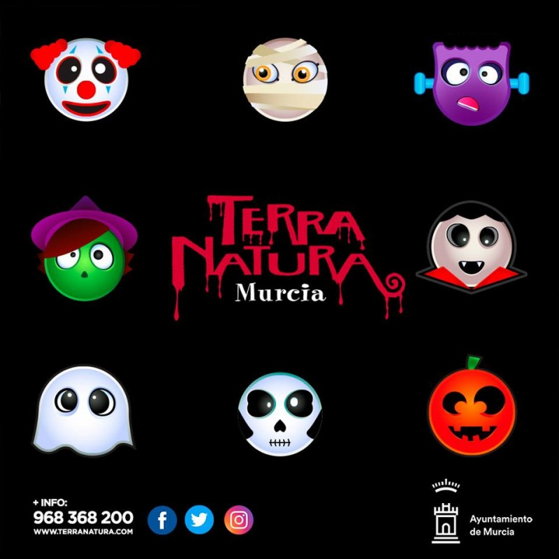 <span style='color:#780948'>ARCHIVED</span> - 19th October to 3rd November, free weekend Halloween activities at Terra Natura wildlife park in Murcia