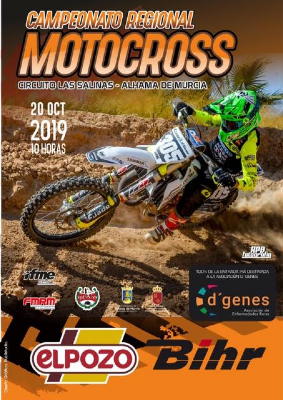Sunday 20th October Alhama de Murcia Motocross