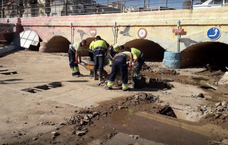 <span style='color:#780948'>ARCHIVED</span> - Repairs and restoration continue in Los Alcázares after the September flooding