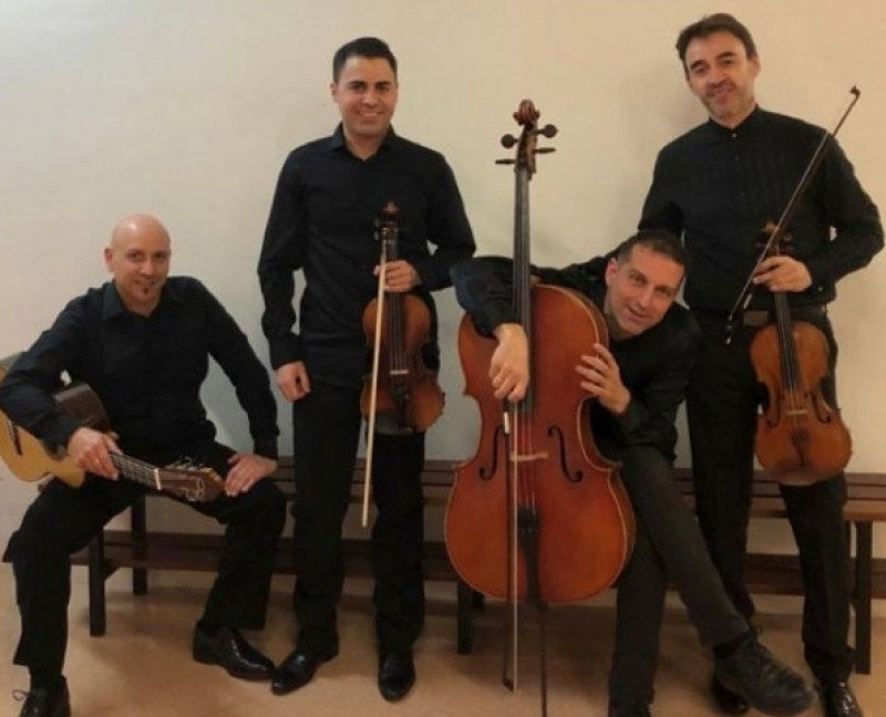18th November, classical concert by Cuarteto Gaya at the Auditorio Víctor Villegas in Murcia