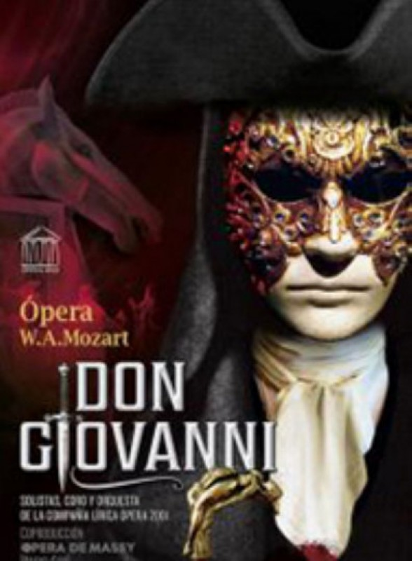 16th March 2020 Don Giovanni opera by Mozart at the Auditorio Víctor Villegas in Murcia
