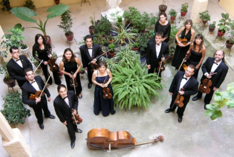 18th May 2020, classical concert by Il Concerto Accademico at the Auditorio Víctor Villegas in Murcia