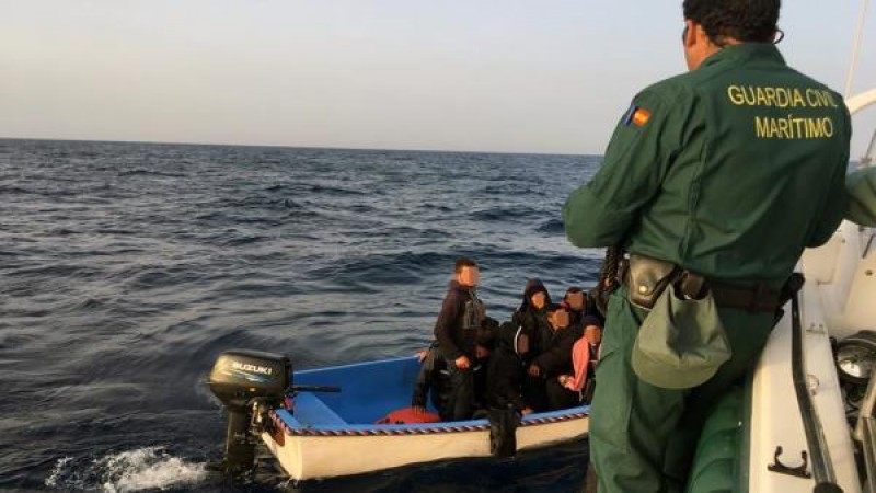 <span style='color:#780948'>ARCHIVED</span> - 30 more Algerian migrants picked up off the coast of Cartagena