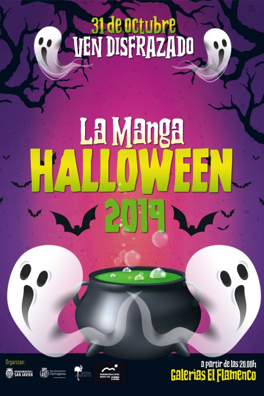<span style='color:#780948'>ARCHIVED</span> - 31st October Halloween party at Galeria El Flamenco La Manga del Mar Menor