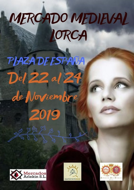 <span style='color:#780948'>ARCHIVED</span> - 22nd to 24th November Lorca Mediaeval Market