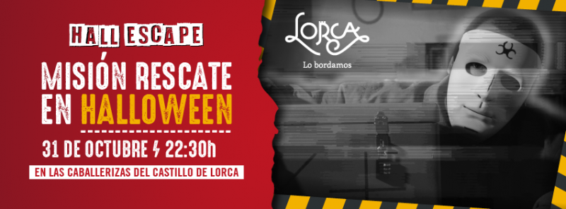 <span style='color:#780948'>ARCHIVED</span> - 31st October Lorca; Hall Scape Mission: Halloween Rescue in the castle