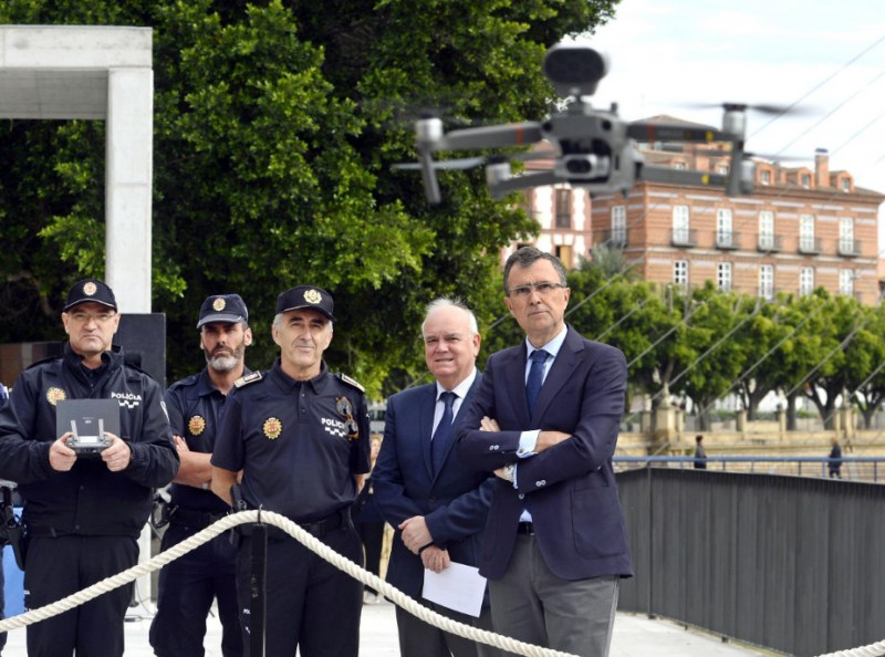 Murcia police acquire drones to monitor inaccessible areas in the municipality