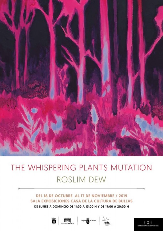 <span style='color:#780948'>ARCHIVED</span> - To 17th November 2019 The Whispering Plants Mutation in Bullas