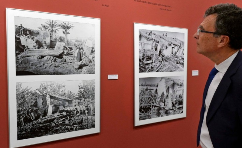 <span style='color:#780948'>ARCHIVED</span> - 15th October to 20th January, exhibition about the catastrophic 1879 Riada de Santa Teresa flood in the city of Murcia