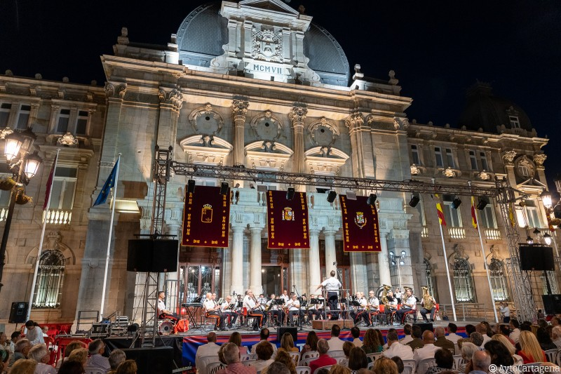 Wednesday 23rd October Free military band concert in Cartagena