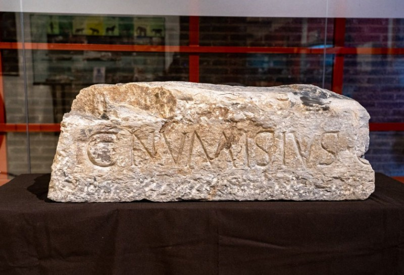 <span style='color:#780948'>ARCHIVED</span> - 2,000-year-old Roman inscription added to the exhibits at Cartagena archaeological museum