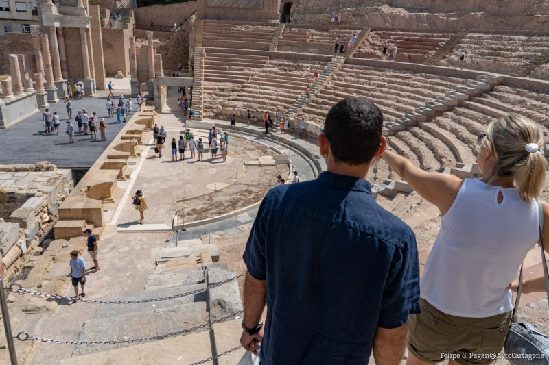 <span style='color:#780948'>ARCHIVED</span> - Saturdays and Sundays in November; Virtual reality tours of the Roman Theatre Museum in Cartagena