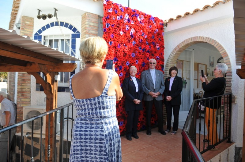 <span style='color:#780948'>ARCHIVED</span> - Camposol poppy cascade pays tribute to the fallen