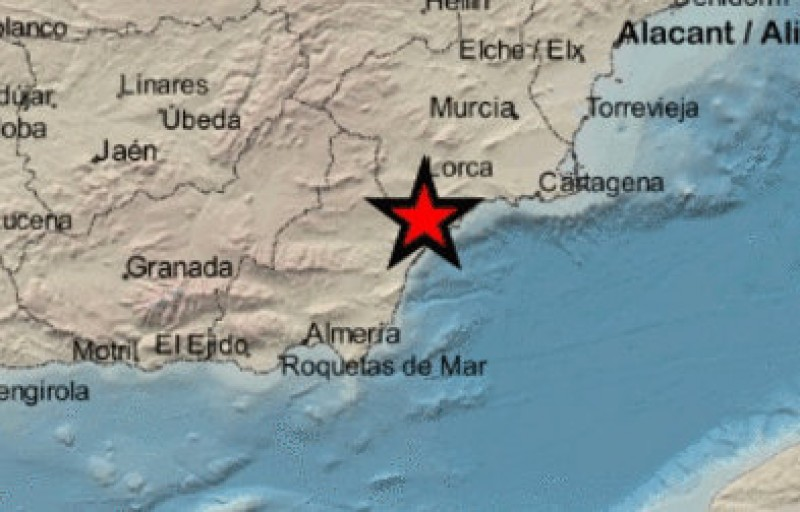 <span style='color:#780948'>ARCHIVED</span> - Minor Monday morning earthquake in Águilas