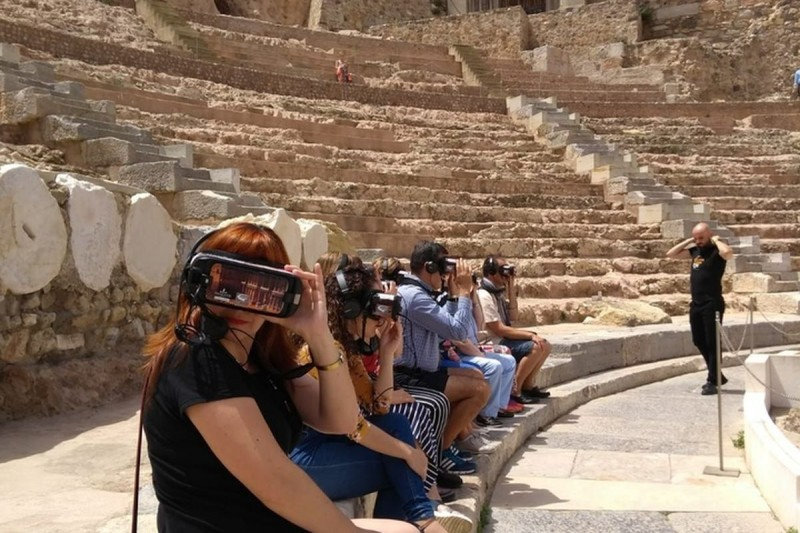 <span style='color:#780948'>ARCHIVED</span> - 9th November, free virtual reality tour of the Roman Theatre Museum in Cartagena