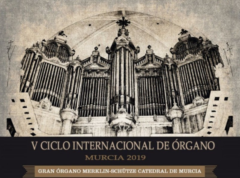 <span style='color:#780948'>ARCHIVED</span> - 21st November free entry organ concert in Murcia Cathedral