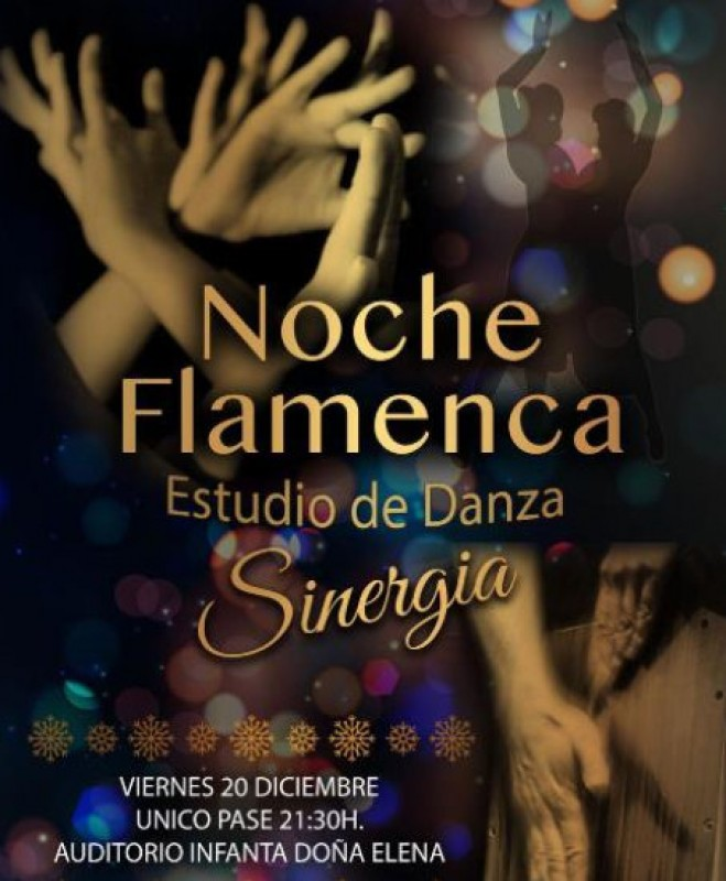 20th December, flamenco dance gala at the Auditorio Infanta Elena in Águilas