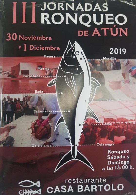 <span style='color:#780948'>ARCHIVED</span> - 30th November to 1st December tuna cutting demonstration at Casa Bartolo in Águilas