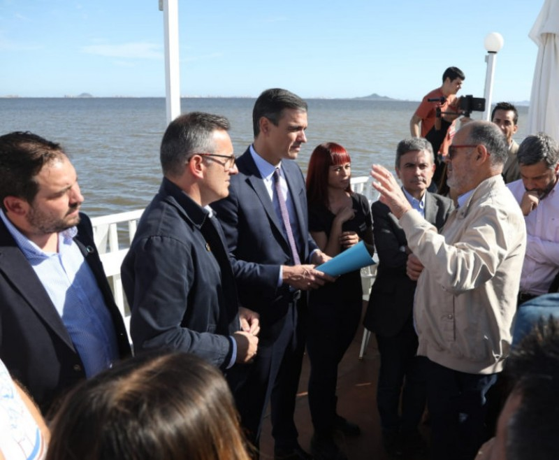 Politicians commit to saving the Mar Menor as campaigning ends for the general election�
