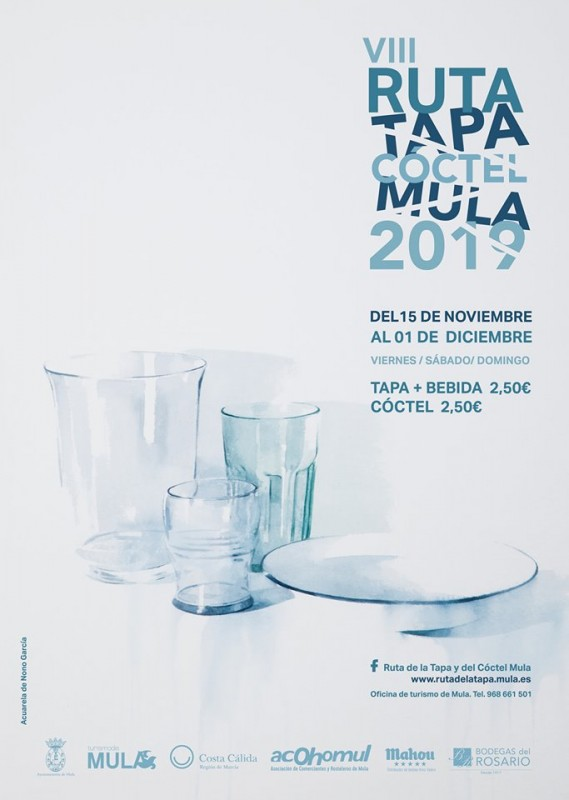 <span style='color:#780948'>ARCHIVED</span> - 15th November to 1st December Mula Tapas Route 2019
