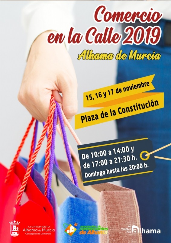 <span style='color:#780948'>ARCHIVED</span> -    15th to 17th November; Alhama de Murcia shopping event