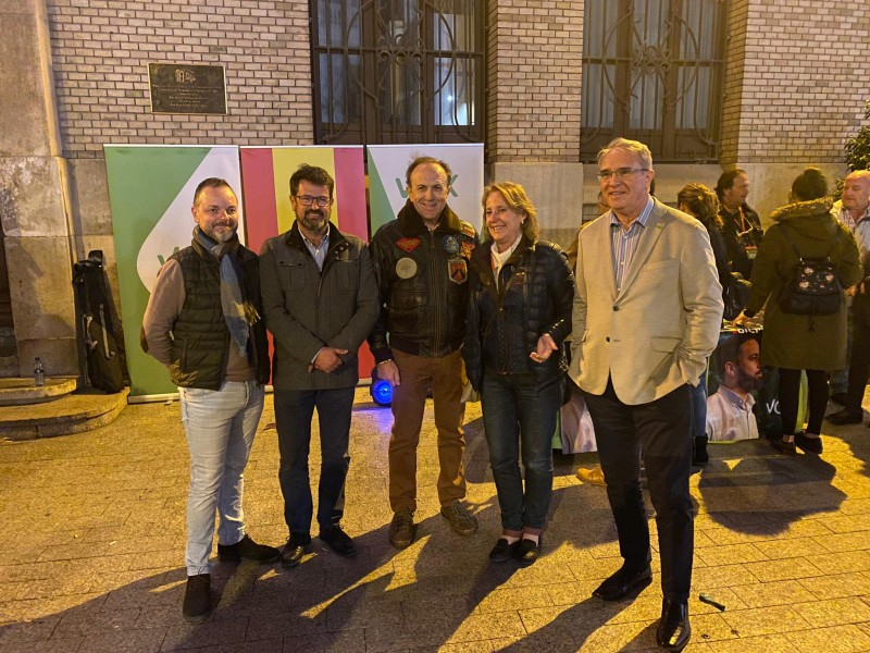 <span style='color:#780948'>ARCHIVED</span> - Far right wing party takes Torre Pacheco by storm in general election voting