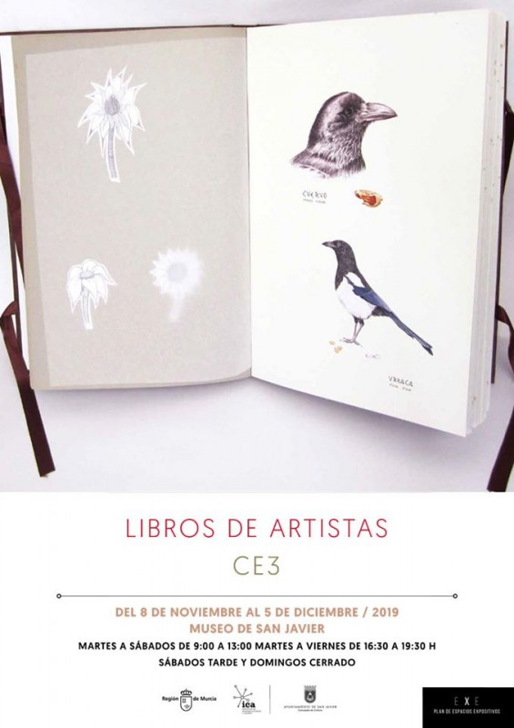 <span style='color:#780948'>ARCHIVED</span> - Exhibition; Libros de Artistas CE3 in San Javier