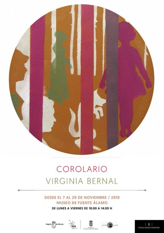 <span style='color:#780948'>ARCHIVED</span> - Exhibition Corolario by Virginia Bernal in Fuente Álamo