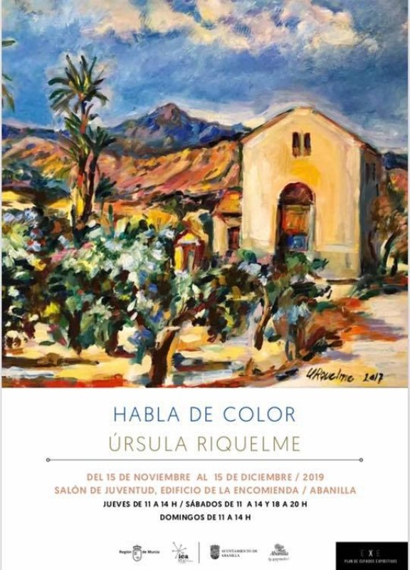 Habla de Color by Úrsula Riquelme in Abanilla