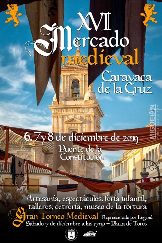 <span style='color:#780948'>ARCHIVED</span> -  6th, 7th and 8th December Mediaeval market in Caravaca de la Cruz