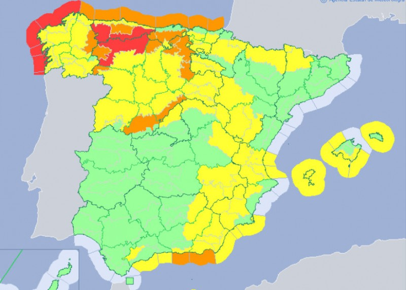 <span style='color:#780948'>ARCHIVED</span> - Wind alerts extended in Murcia as a cold front brings wintry weather to Spain