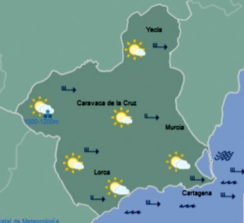<span style='color:#780948'>ARCHIVED</span> - From 27 degrees to snow in 24 hours in Murcia