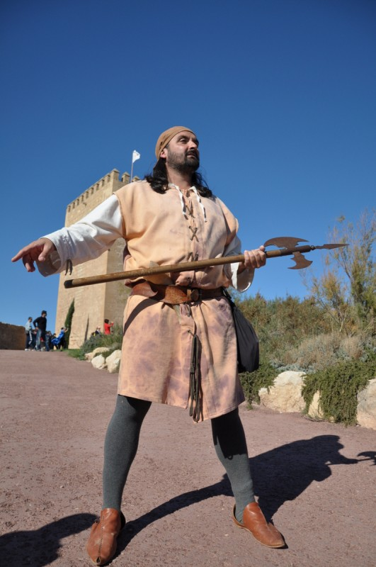 <span style='color:#780948'>ARCHIVED</span> - Saturday 23rd November Open day at Lorca castle for Fiestas of San Clemente
