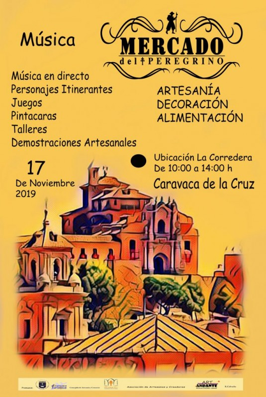 <span style='color:#780948'>ARCHIVED</span> - Sunday 17th November 2019 Caravaca de la Cruz artisan market