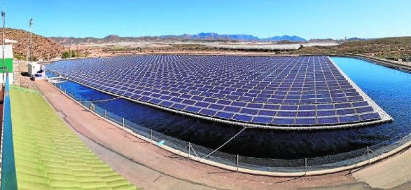 <span style='color:#780948'>ARCHIVED</span> - Solar panels at Mazarrón desalination plant save costs, save water and protect the environment
