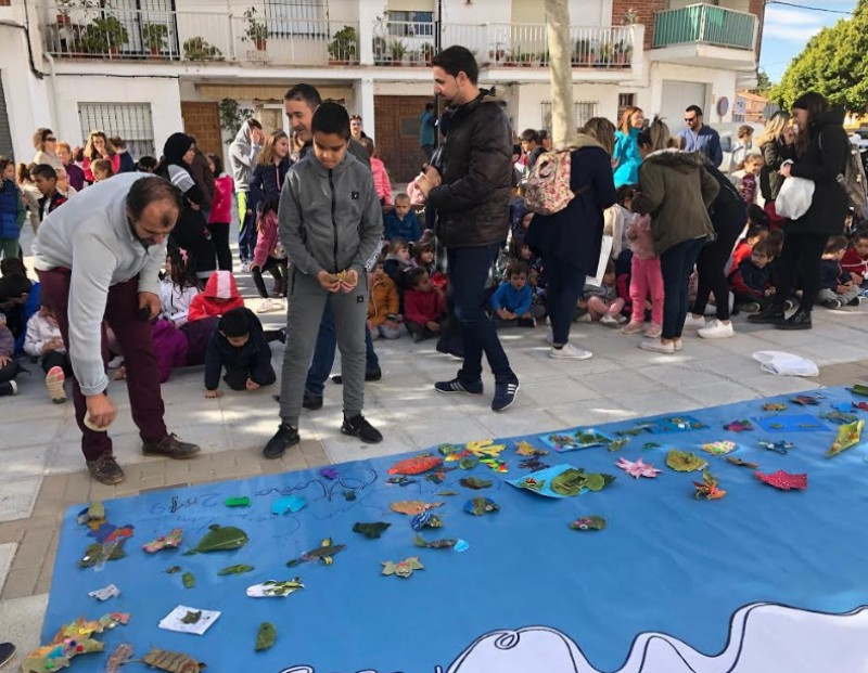 <span style='color:#780948'>ARCHIVED</span> - Schoolchildren in San Cayetano present Mar Menor project in public