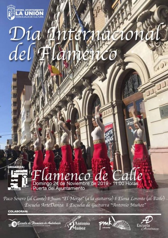 <span style='color:#780948'>ARCHIVED</span> - Sunday 24th November Free Flamenco in La Unión