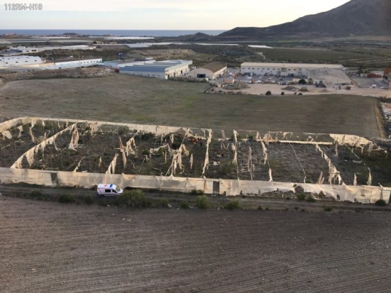 <span style='color:#780948'>ARCHIVED</span> - Missing 85-year-old woman found in Mazarrón crop fields